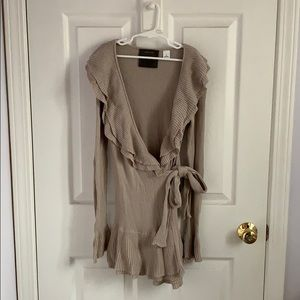 Anthropologie Guinevere Tie-wrap Sweater